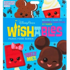Disney Parks food series wishables mystery pack